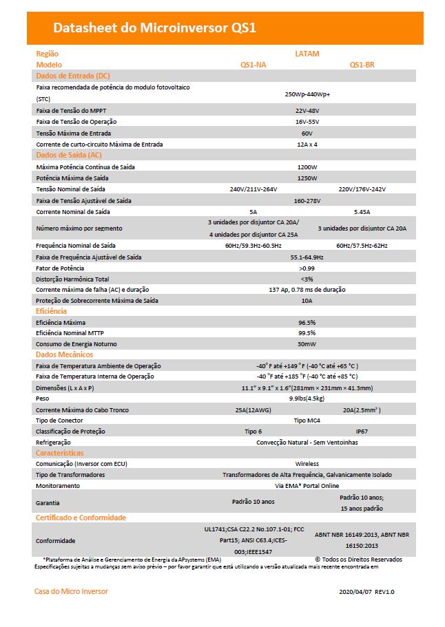 FOLHA TÉCNICA-DATASHEET-QS1-BR-1200W-