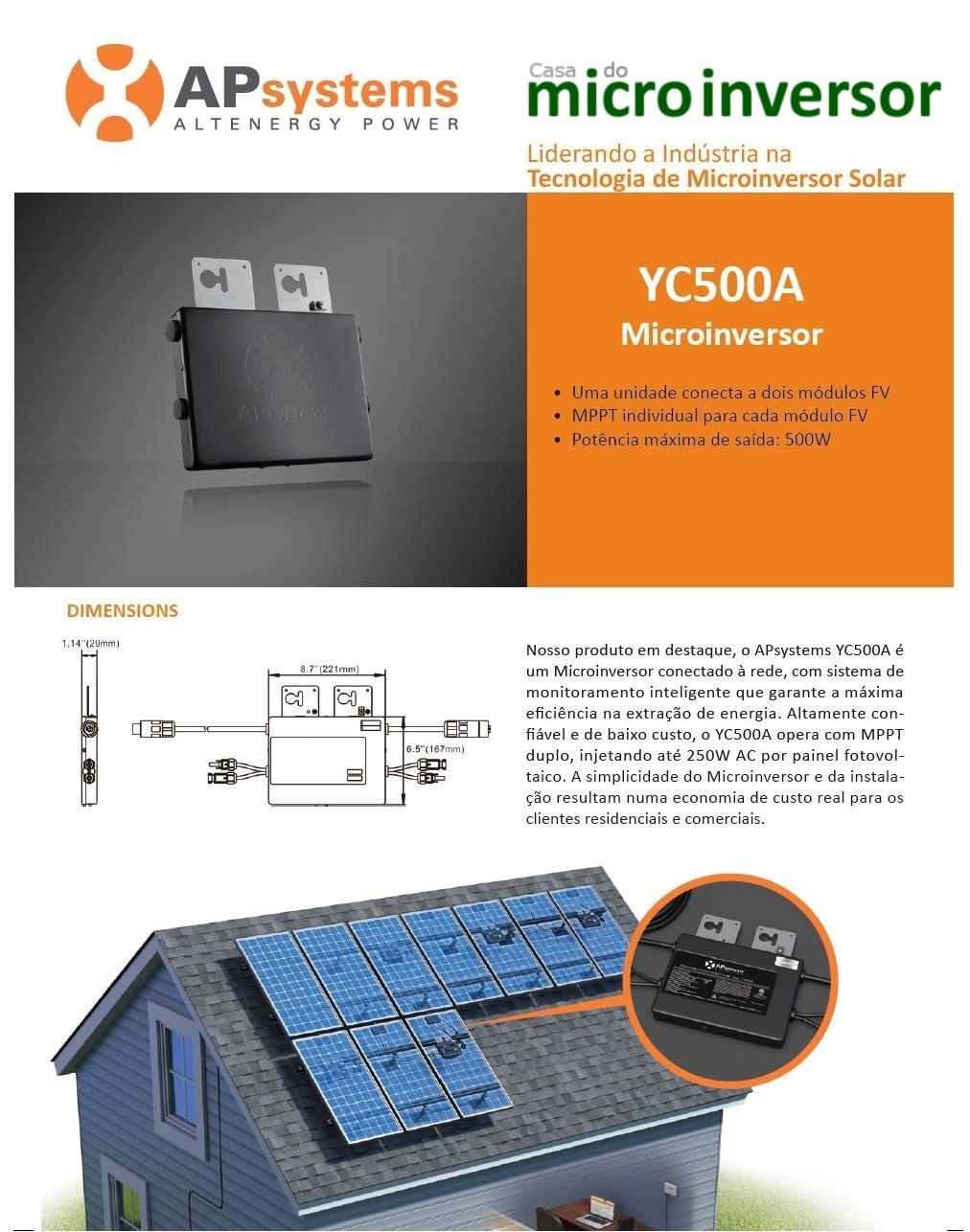 Capa - Dados Técnicos YC500A