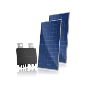 Kit Solar com Microinversores YC600 APsystems e Painéis Solares