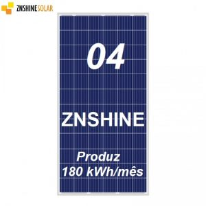 4 Painéis Solares ZNSHINE 320 Wp