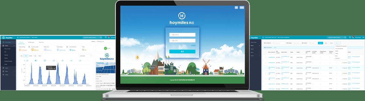 Hoymiles monitoramento