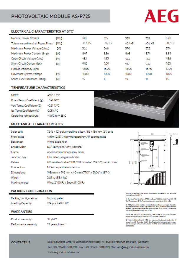 Datasheet-AEG-P725-330wp