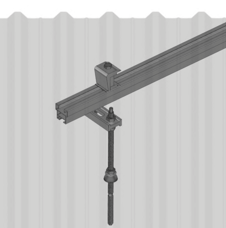 Estrutura para Telhas Metálicas