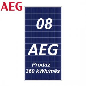 Painéis Solares AEG Industrial Solar